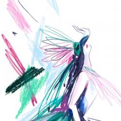 Julia Riffiod - Affiche Danseuse 02 petit format