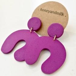 Honeyandmilk - Boucles d'oreilles Curl