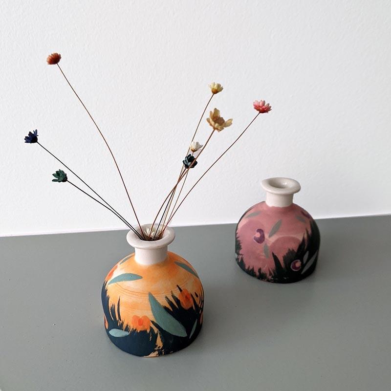 Anne-Lise Pichon - Petit vase Pampa