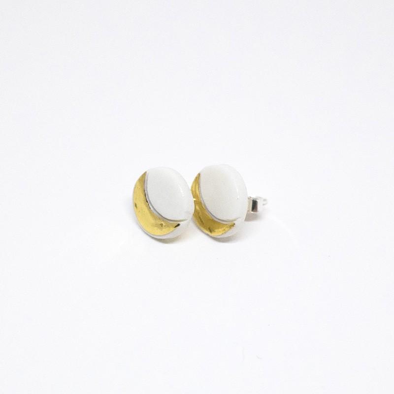 Anne-Lise Pichon - Boucles d'oreilles puces Eclipse