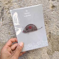 Anne-Lise Pichon - Broche souris