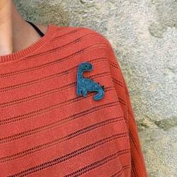 Anne-Lise Pichon - Broche dinosaure