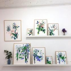 Julia Riffiod - Affiche Dessin-Cabane grand format