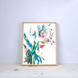 Julia Riffiod - Affiche Dessin-Cabane format moyen