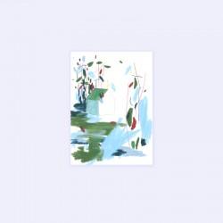 Julia Riffiod - Affiche Dessin-Cabane petit format