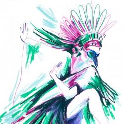 Julia Riffiod - Affiche Danseuse 01 petit format