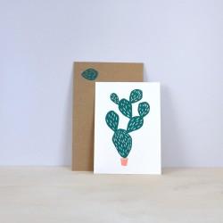 Julia Riffiod - Carte Cactus