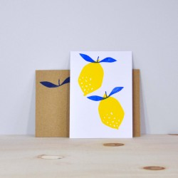 Julia Riffiod - Carte Citron