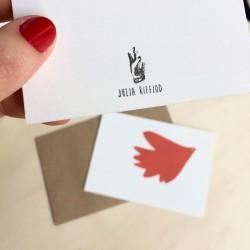 Julia Riffiod - Carte lucky