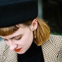 Laurène Vernet - Boucles d'oreilles Cotillons