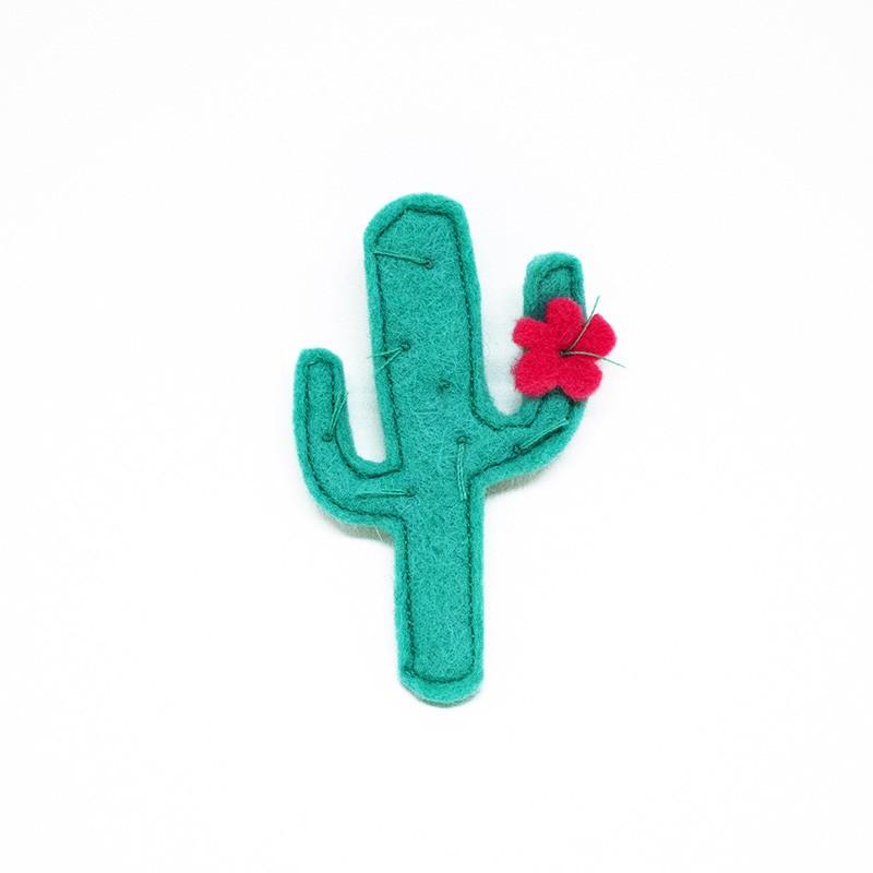 Anne-Lise Pichon - Broche cactus